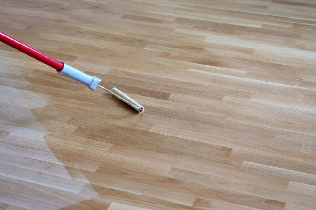 hardwood floor staining and restoration